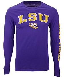 Men's LSU Tigers Midsize Slogan Long Sleeve T-Shirt
