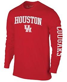 Colosseum Men's Houston Cougars Midsize Slogan Long Sleeve T-Shirt
