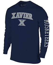 Colosseum Men's Xavier Musketeers Midsize Slogan Long Sleeve T-Shirt