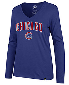 '47 Brand Women's Chicago Cubs Splitter Long Sleeve T-Shirt