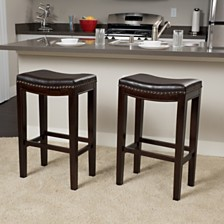 Set of 2 Avondale Barstools, Quick Ship