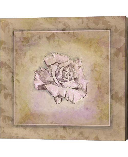 Metaverse Rose Square I by Veruca Salt Canvas Art