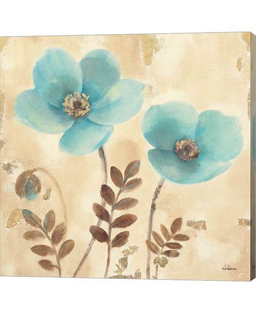 Metaverse Poppies Three I by Albena Hristova Canvas Art