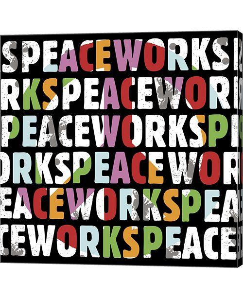Metaverse Peace Works by Erin Clark Canvas Art