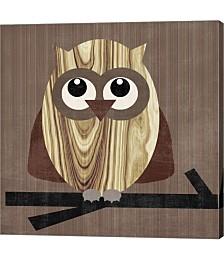 Owl 2 by Erin Clark Canvas Art