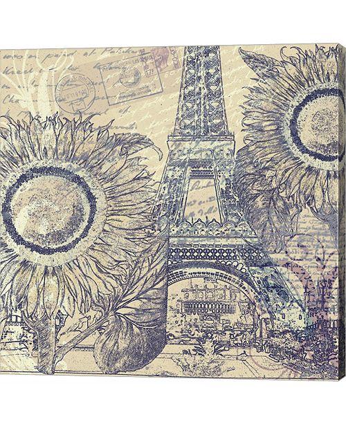Metaverse Paris Pastiche II by Mindy Sommers Canvas Art