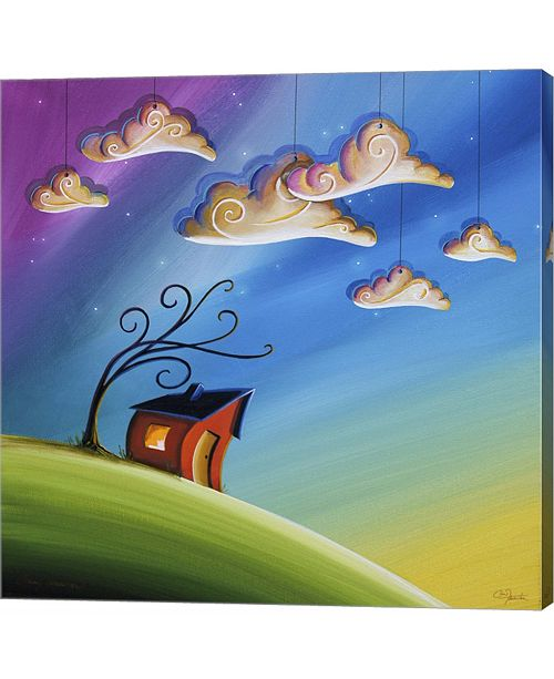 Metaverse Song At Sunset by Cindy Thornton Canvas Art