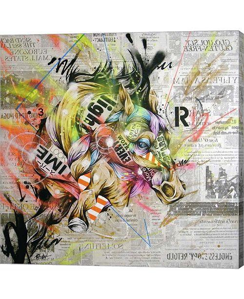 Metaverse Pulse by Taka Sudo Canvas Art