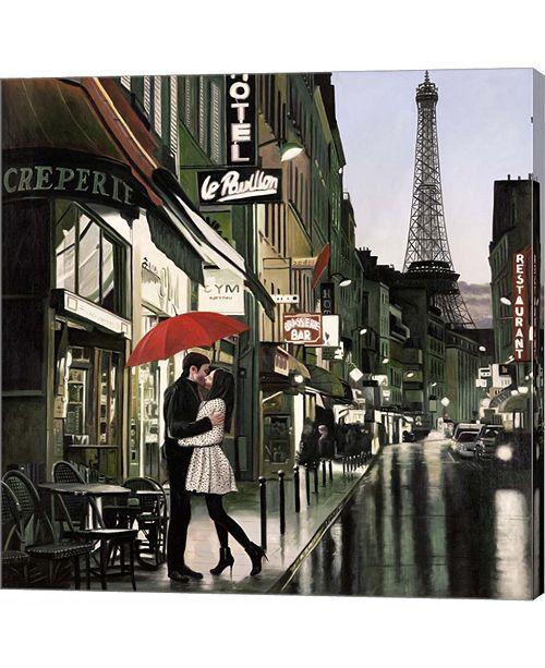Metaverse Romance in Paris by Pierre Benson Canvas Art