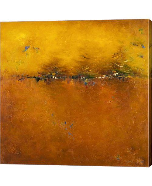 Metaverse Orange Sunset by Patricia Pinto Canvas Art