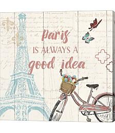 Paris Tour IV by Janelle Penner Canvas Art