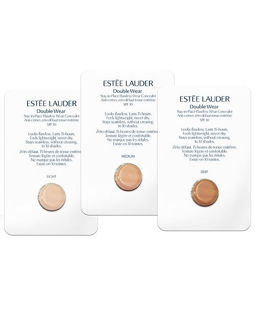 estee lauder double wear free sample