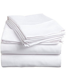 Superior 400 Thread Count Premium Combed Cotton Solid Sheet Set - Split King