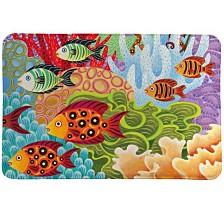 Fish In The Hood Memory Foam Rug