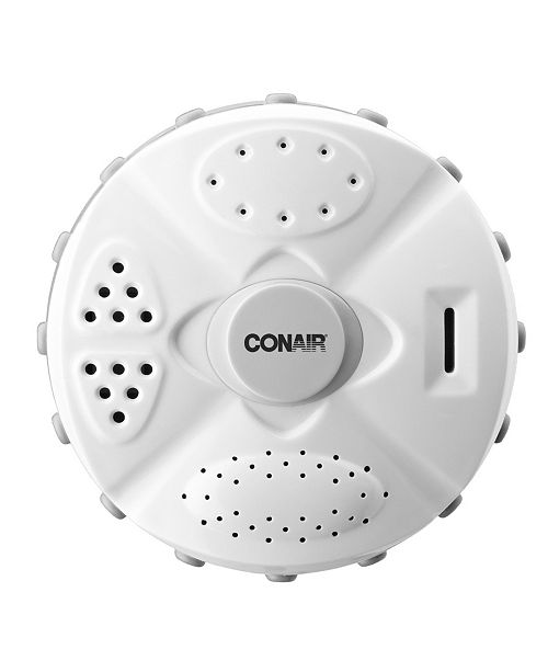 Conair 4-Setting Wall-Mounted Patterned Showerhead Collection