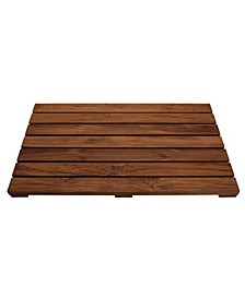 Solid Teak Shower Mat
