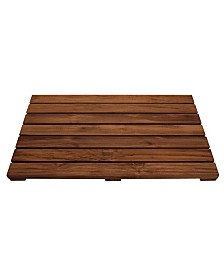Conair Solid Teak Shower Mat