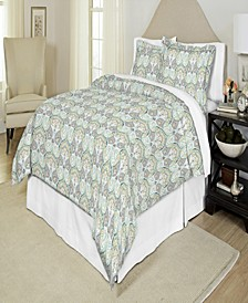 200TC Printed Percale Duvet