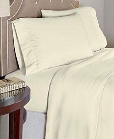 Luxury Weight Cotton Flannel Sheet Set Queen
