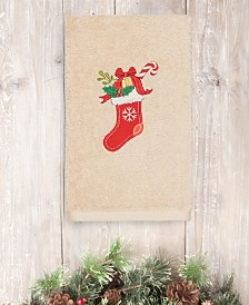 CLOSEOUT! Linum Home Christmas Stocking 100% Turkish Cotton Hand Towels