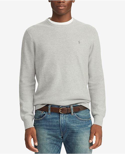 d7b004b677e Polo Ralph Lauren Men s Crew Neck Sweater   Reviews - Sweaters ...