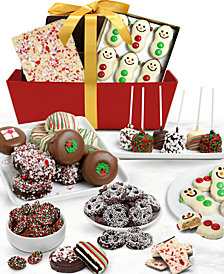 Chocolate Covered Company  Fun Festive Belgian Chocolate Covered-Gift Basket