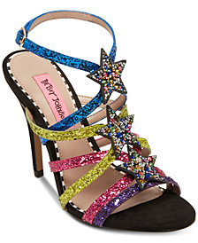 Betsey Johnson Shining Dress Sandals