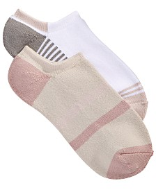 Lemon 2-Pk. Powder Playground Stripe Low-Cut Socks