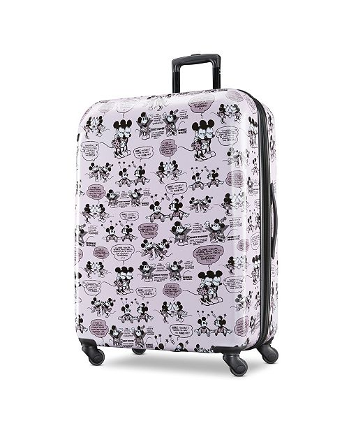 """American Tourister Minnie & Mickey Mouse 28"""" Spinner"""