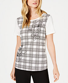 Weekend Max Mara Laveno Embellished Printed T-Shirt