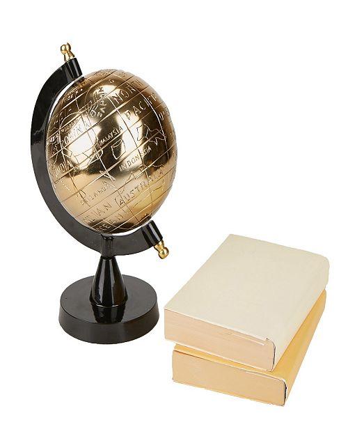 Mind Reader Desktop Globe, Black