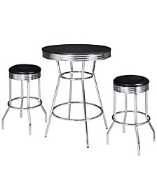 Remington 3 Piece Pub Table Set