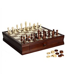 Prodigy Wood Chess and Checkers Set