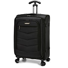 "Traveler's Choice Silverwood 26"" Softside Spinner Suitcase"