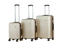 "Triforce Sobe 3pc Set 21""25""29"" Spinner Luggage"