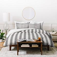 Holli Zollinger French Linen Seaside Stripe Queen Duvet Set