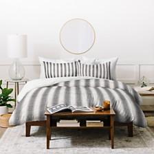 Deny Designs Holli Zollinger French Linen Seaside Stripe Queen Duvet Set