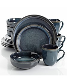 Laurie Gates Novara 16-Pc. Dinnerware Set, Service for 4