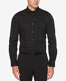 Perry Ellis Men's Dot-Print Shirt