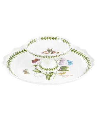 Serveware, Botanic Garden 2 Piece Chip and Dip