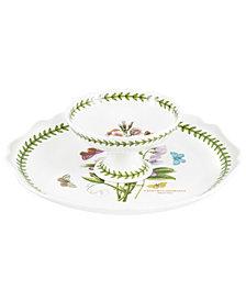 Portmeirion Serveware, Botanic Garden 2 Piece Chip and Dip
