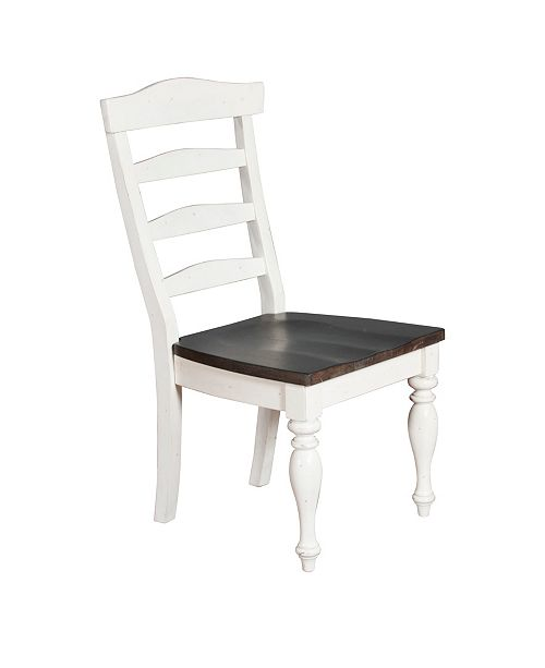 Sunny Designs Carriage House European Cottage Four-Ladderback Chair