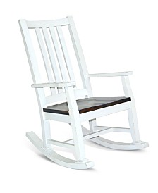 Bourbon County French Country Slatback Rocker
