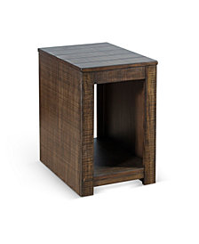 Coleton Tobacco Leaf Chair Side Table