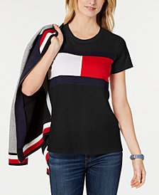 Tommy Hilfiger Sport Flag Colorblocked T-Shirt