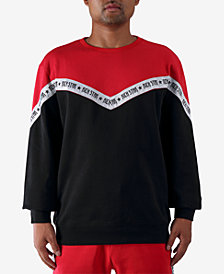 Rich Star Men's Taping Colorblocked Sweatshirt