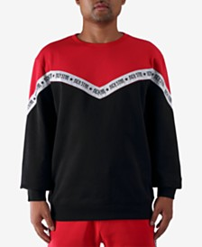 Rich Star Men's Taping Colorblocked Sweatshirt