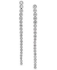 Diamond Drop Earrings (1 ct. t.w.) in 14k White Gold