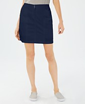 bffe1d6557 Karen Scott Knit Waist Band Skort, Created for Macy's