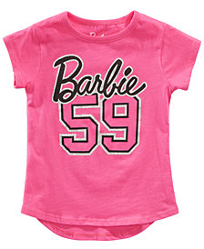 Barbie Little Girls Graphic-Print T-Shirt
